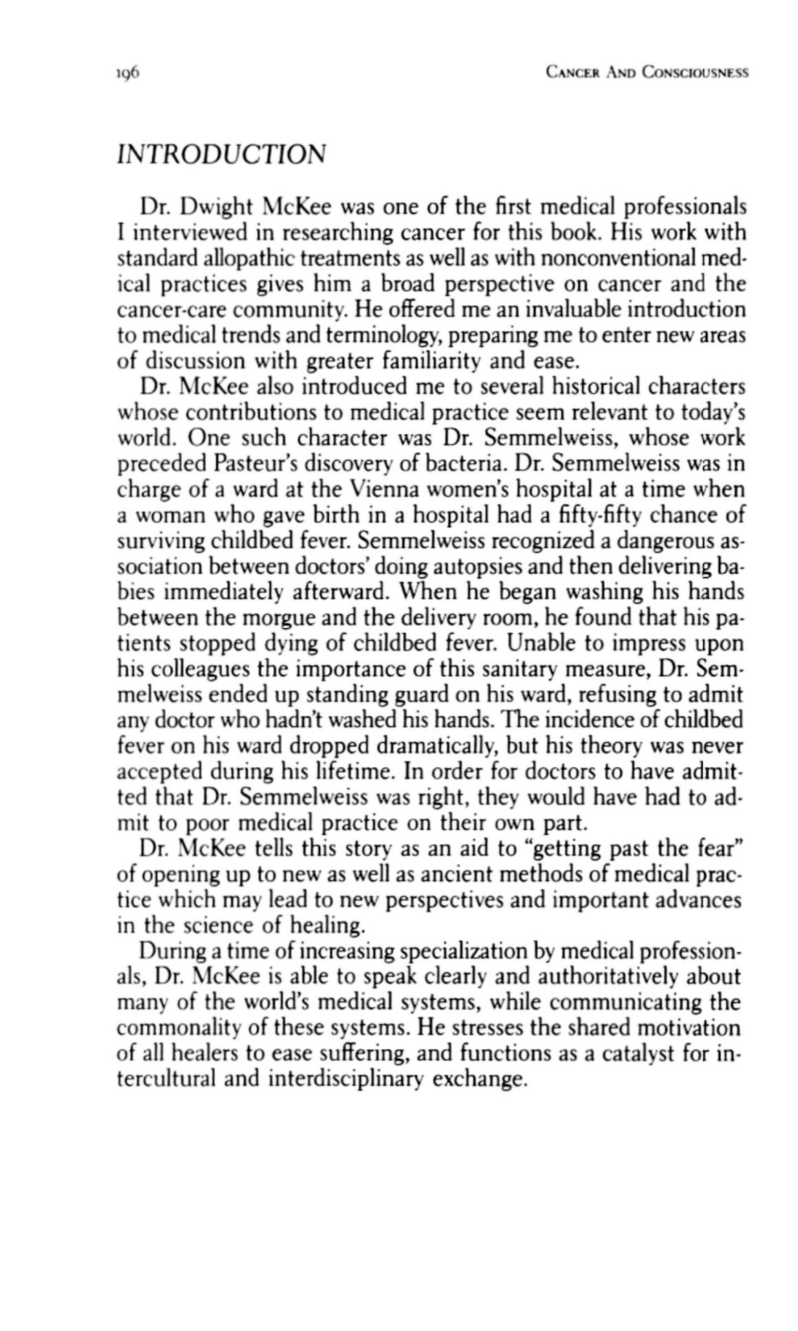 Seite 196 Cancer as Teacher Intro