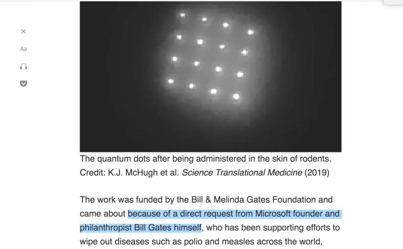 Doch, das hat Bill Gatesgesagt!