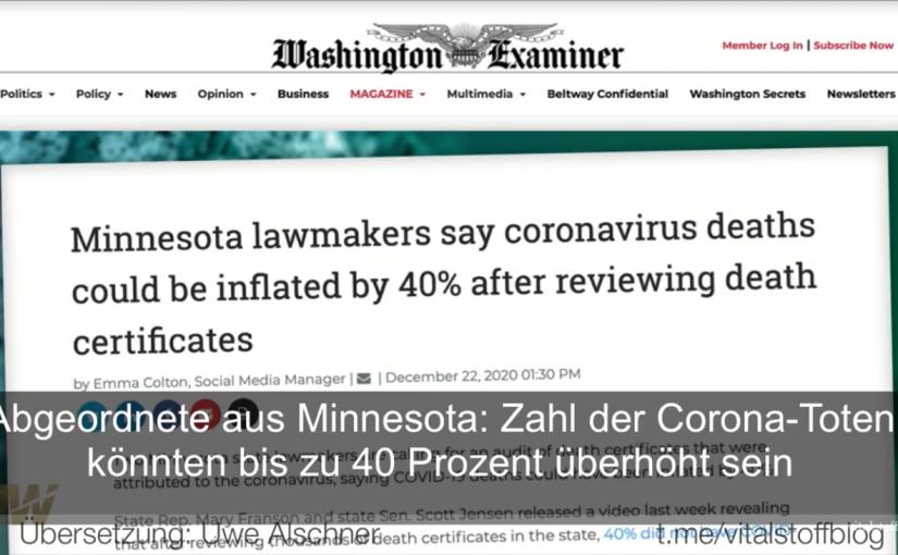 Ex-Senator: Zweifel an offiziellerCovid-Statistik